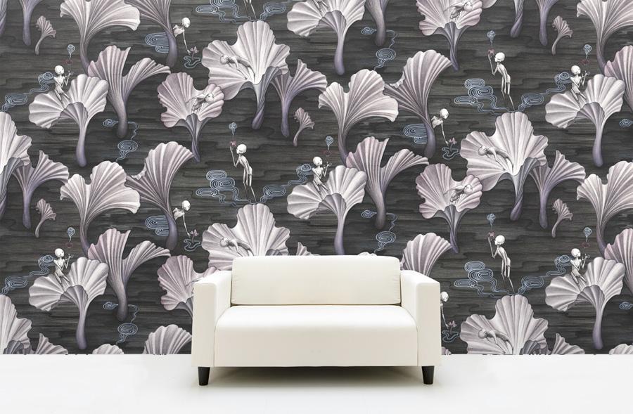 mushroom spirits wallpaper