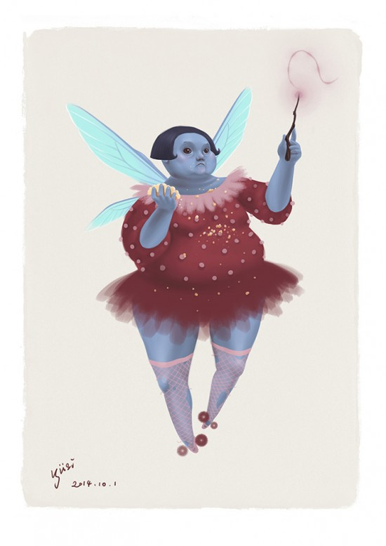 Blue Fairy Concept art for FRACTURED: a tale of two worlds.
