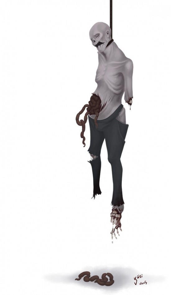 The Hangman Concept art for FRACTURED: a tale of two worlds.