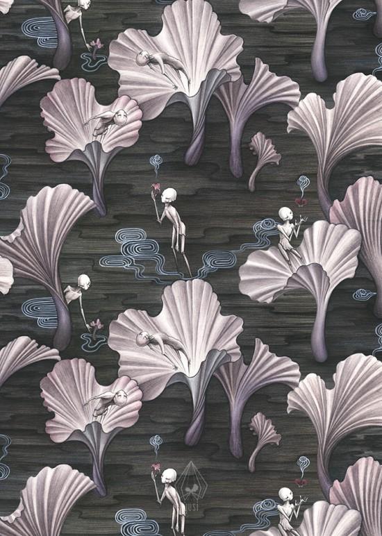 The Mushroom Spirits - vertical view