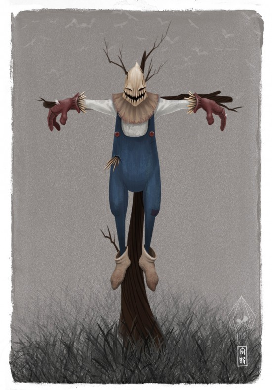 The Scarecrow Concept art for FRACTURED: a tale of two worlds.